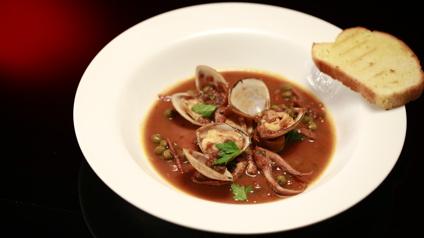 Helena and Vikki MKR Octopus recipe