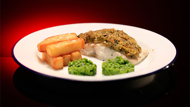 MKR Fish and Thrice Cooked Chips Recipe Will and Steve
