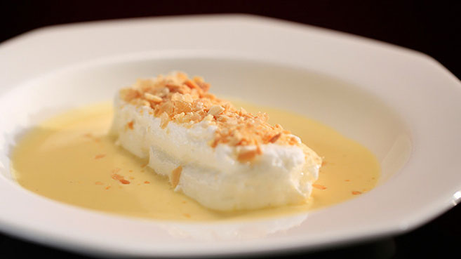 Kat and Andre's Ile Flottante Recipe