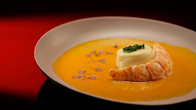 Ash & Camilla Scallop Mousse with Lobster Sauce Recipe