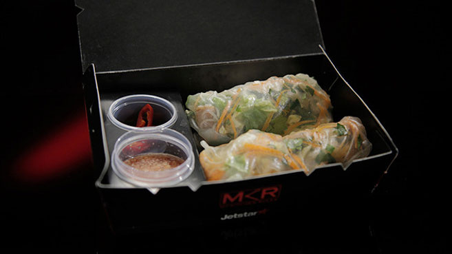Emma and Jane Chicken Rice Paper Rolls with Nuoc Cham Recipe.