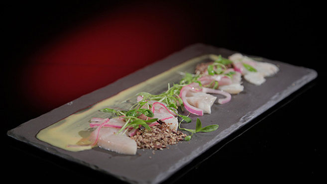 Will & Steve Cured Kingfish with Yellow Curry Recipe