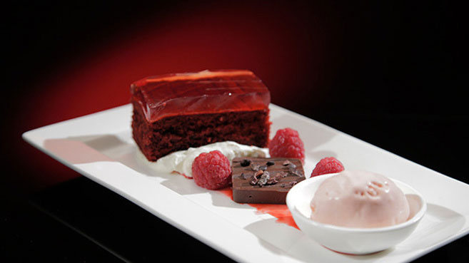 Jac & Shaz Red Velvet with Chocolate and Raspberries Recipe