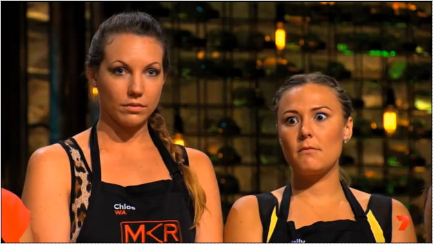 Chloe and Kelly Quit MKR
