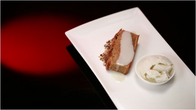 Paul and Blair's Spiced Cake with Lime Sorbet