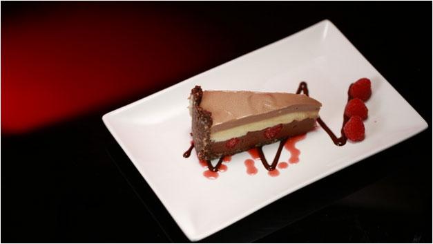 Paul and Blair's Triple Chocolate Cheesecake