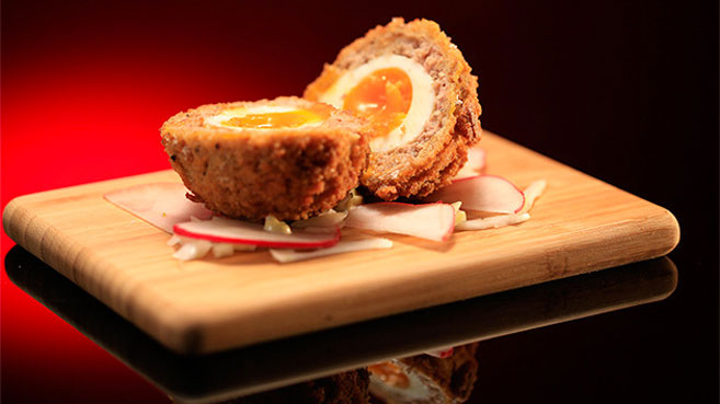 MKR Scotch Egg Recipe Will and Steve