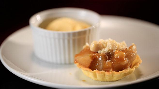 Katie and Nikki Kick-Ass Apple Pie with Burnt Butter Ice-Cream Recipe