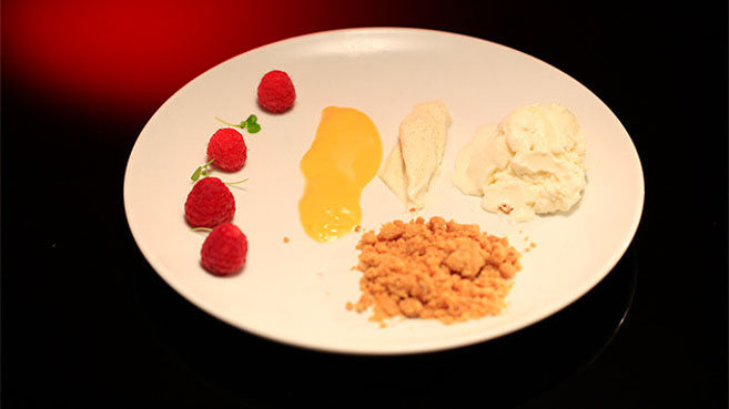 Katie and Nikki Deconstructed Lemon Tart Recipe