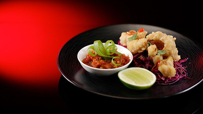Jac & Shaz Fried Squid with Chilli Jam Recipe