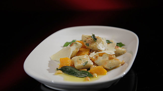 Kat and Andre Gnocchi with Pumpkin and Sage Burnt Butter recipe