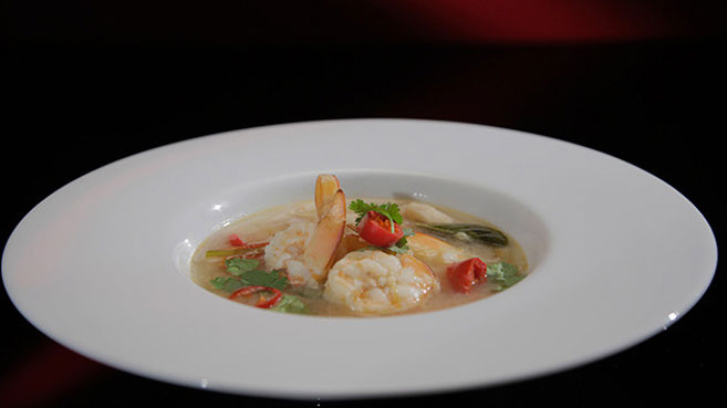Eva and Debra Hot and Sour Prawn Soup recipe