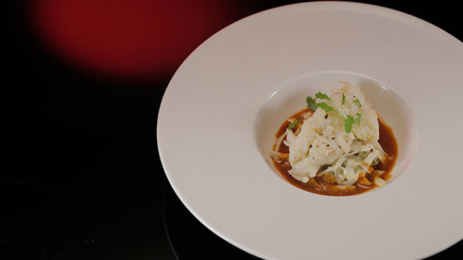Will & Steve Moreton Bay Bugs with Celeriac Remoulade and Seafood Bisque Recipe.