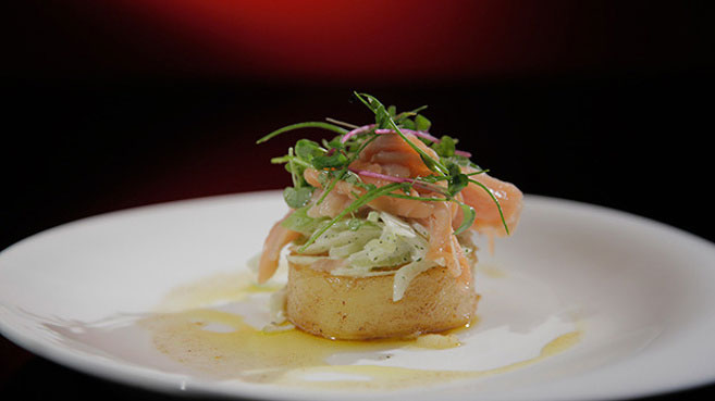 Wil & Steve Smoked Trout with Celery, Apple and Fennel Recipe