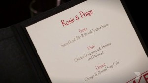 rosie and paige menu